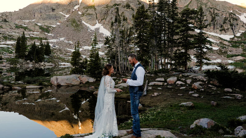 vail backpacking elopement film|Colorado Elopement Videography