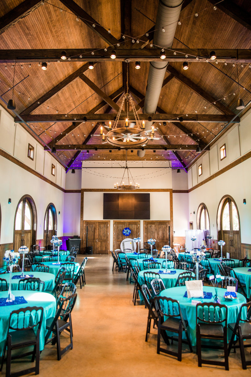 The Carriage house, another reception venue at the Botanical Gardens