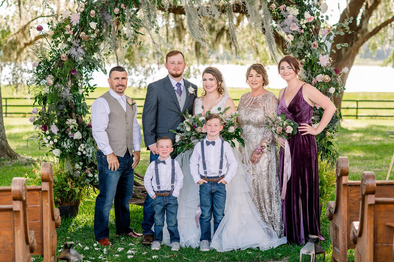 Covington Farm Wedding | Dade City Wedding Photographer | Family Formal Portraits-5