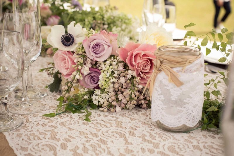 lace table runner-hemingway rentals