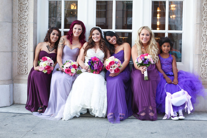Bridesmaids, Big city wedding