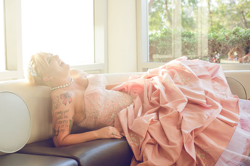 bride-tattoo-pink-wedding-dress-bt-photography-jacksonville-florida