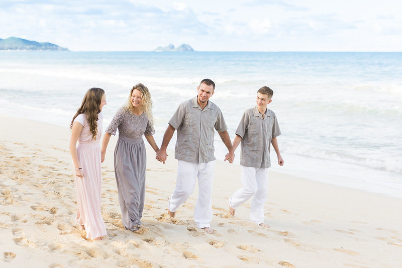 Mini Oahu Portrait Package