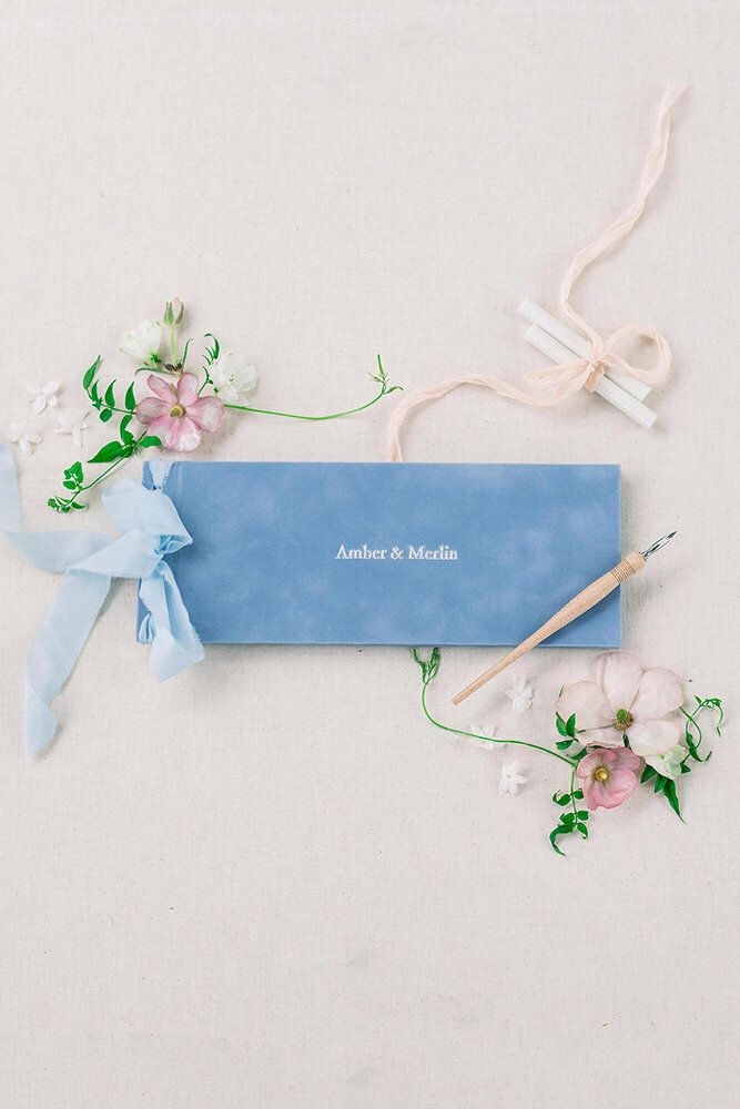 Dusty Blue Bruiloft Stationery Studio Peony Design-14