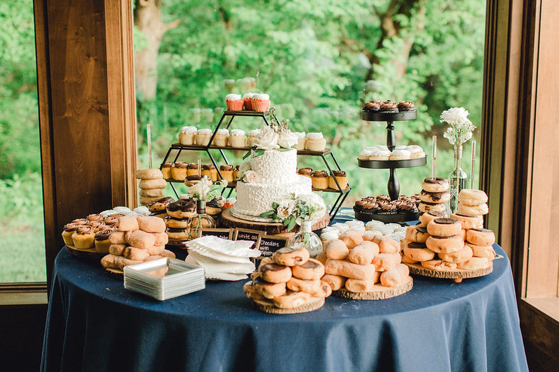 Wedding-Inspiration-Reception-Dessert-Table-Donuts-Cake-by-Uniquely-His-Photography01