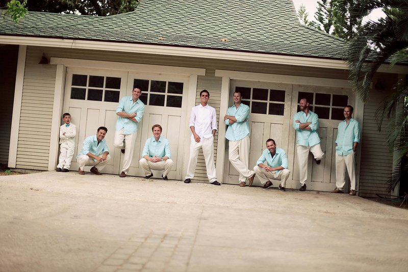 Groomsmen Photos in Hawaii