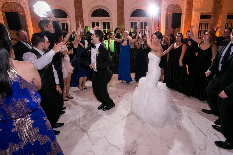 Destination Wedding Puerto Rico party at the Antiguo Casino de Puerto Rico
