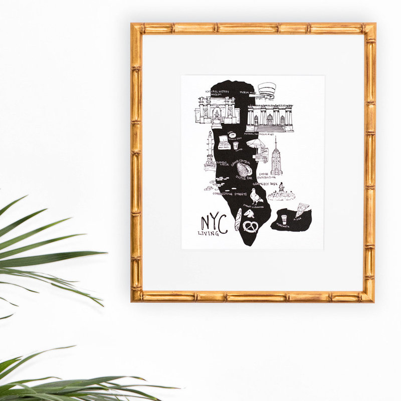 Etsy_Artprint_8x10_Framed_Print_NYC