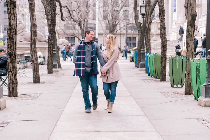 engagement photography in manhattan, new york city