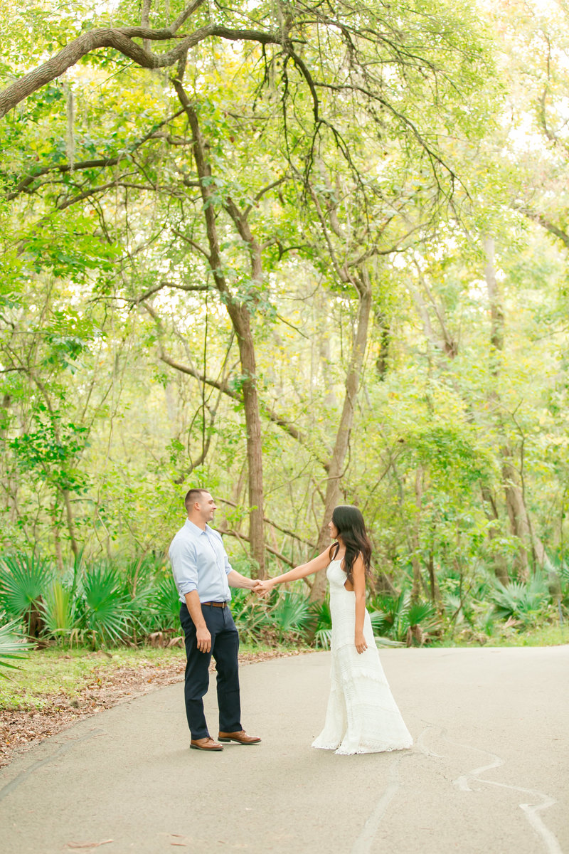 Palmetto State Park Engagement Session by Indy Pop Photo