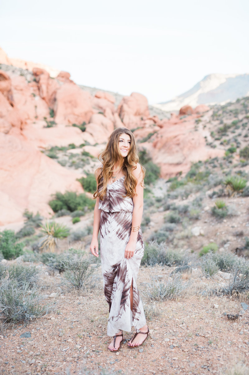 las vegas senior grad photography