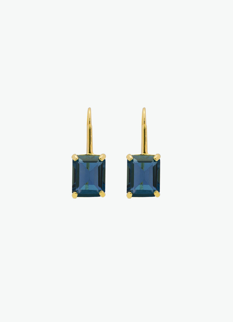COVET HANDMADE_CLAUDIA MINI_LONDON BLUE TOPAZ_GOLD