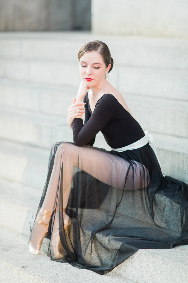 24 Abby Grace Photography Washington DC Ballerina Photographer
