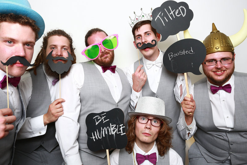 New England photo booth photographer based in Burlington VT | Hall-Potvin Photography