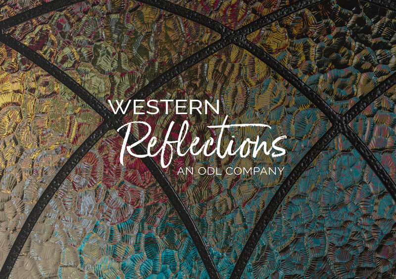 Case Study for Western Reflections business branding collateral