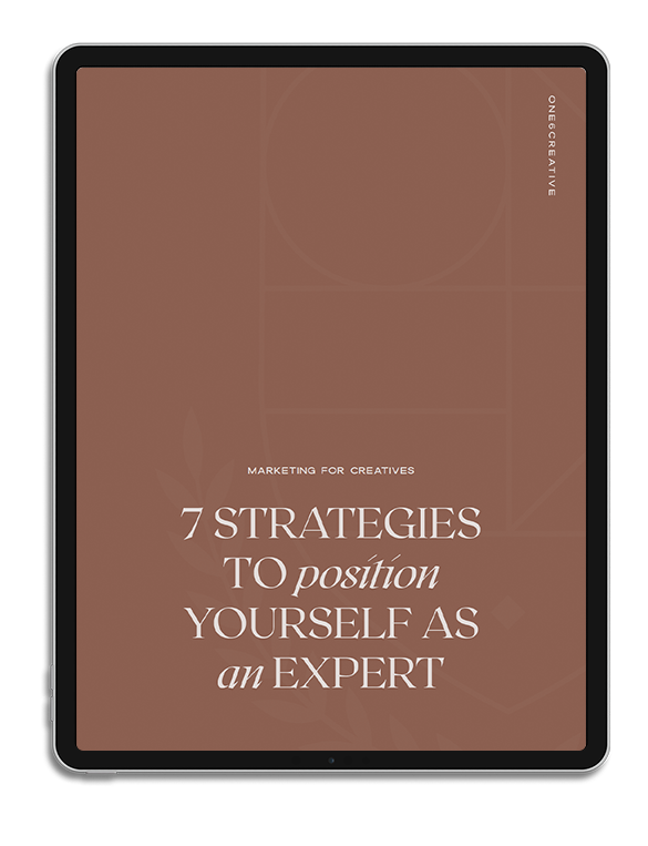 Freebie_Expert Positioning Strategies_iPad Mockup