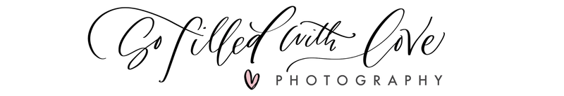 So Filled With Love Photography Logo - Family, Newborn, & Brand Photographer Serving Middle Georgia