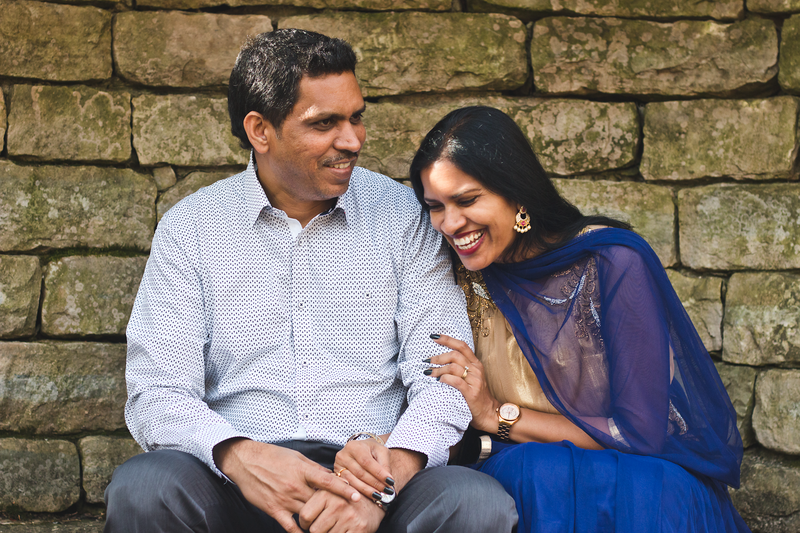 indian couple portrait photography laughing ohio