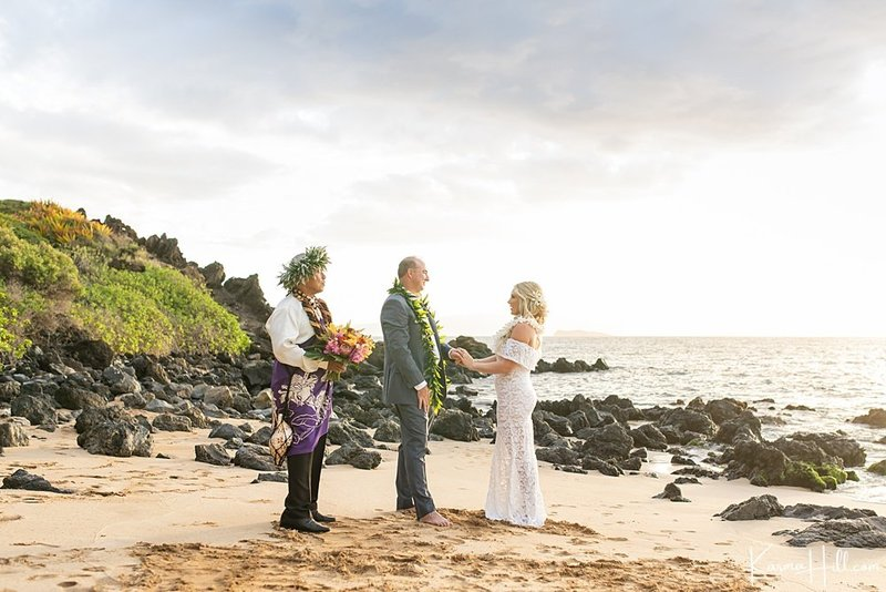 beach wedding venues in Maui - Southside Beach