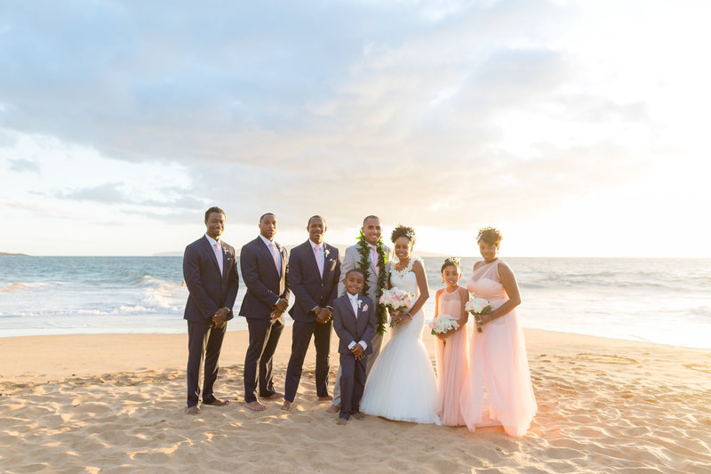 Maui beach wedding packages - Package 4