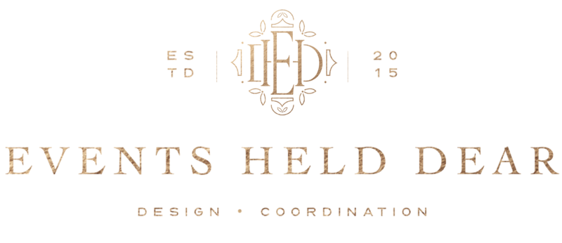 Events Held Dear - Custom Brand and Showit Web Design for Event Planner - With Grace and Gold - 15