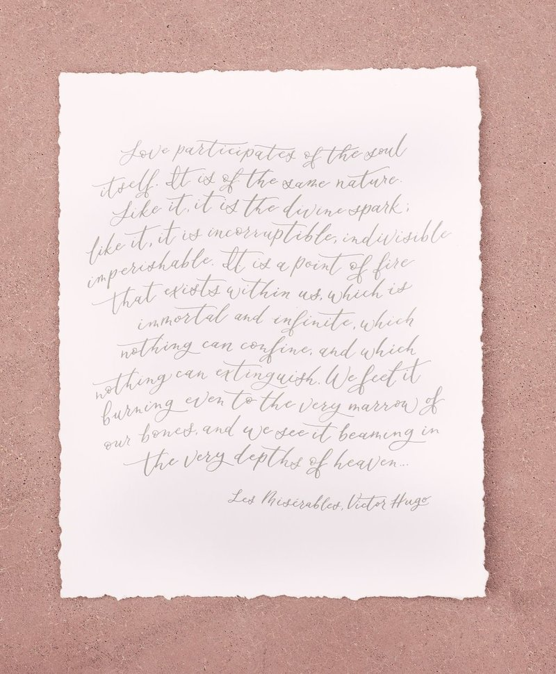calligraphy wedding vows-4