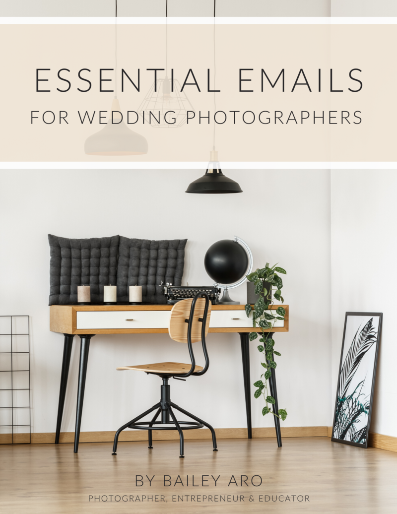 Essential Emails for Wedding Photographers
