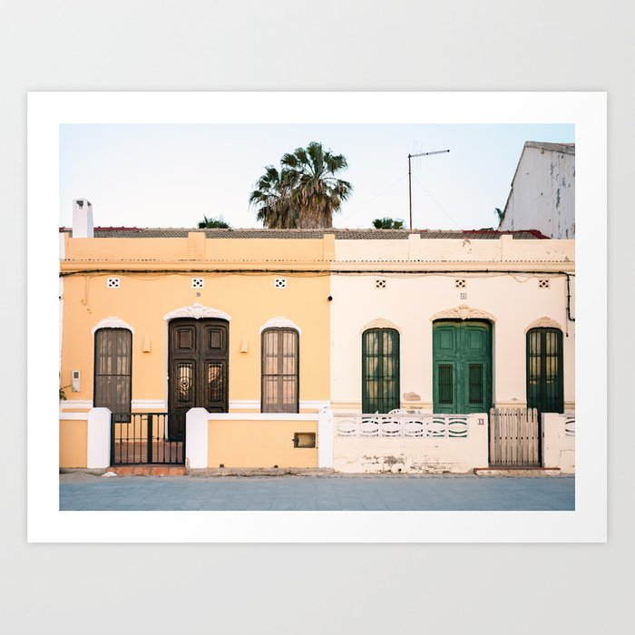 beachfront-houses-valencia-beach-spain-fine-art-photography-prints