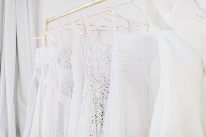 wedding gowns for curvy women in Birmingham bridal store