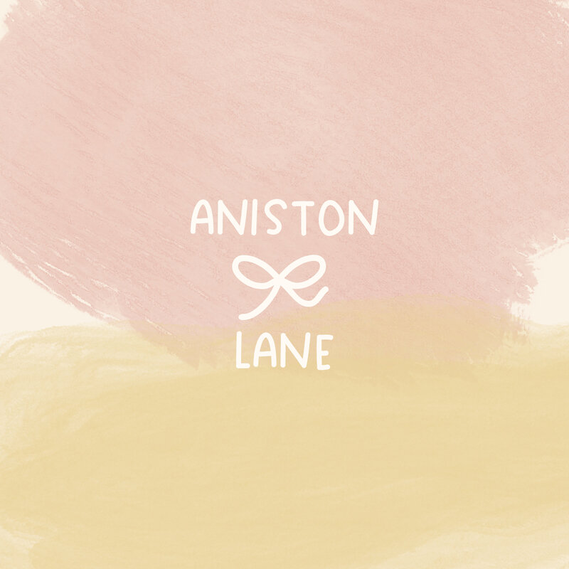 Aniston Lane Logo Design Etsy Shop