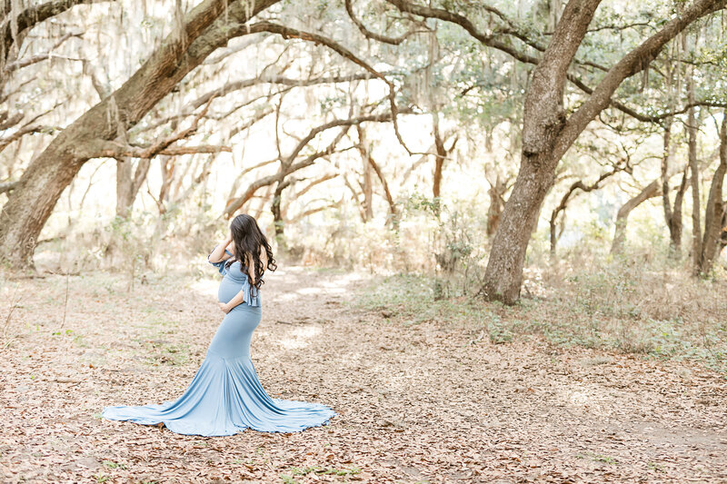 orlando fl maternity photos spanish moss