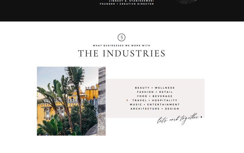 Handcrafting Heartfelt Brand & Website Designs for Female Creatives |  Showit | Showit Templates | by Viva la Violet | 411 Creative