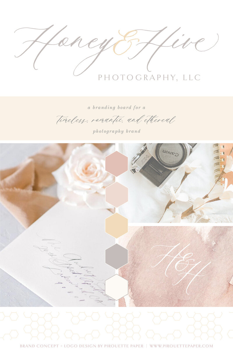 pirouettepaper.com | Logo Design + Branding | Pirouette Paper Company | Honey and Hive Fine Art Wedding Photography in Orange County, CA 05