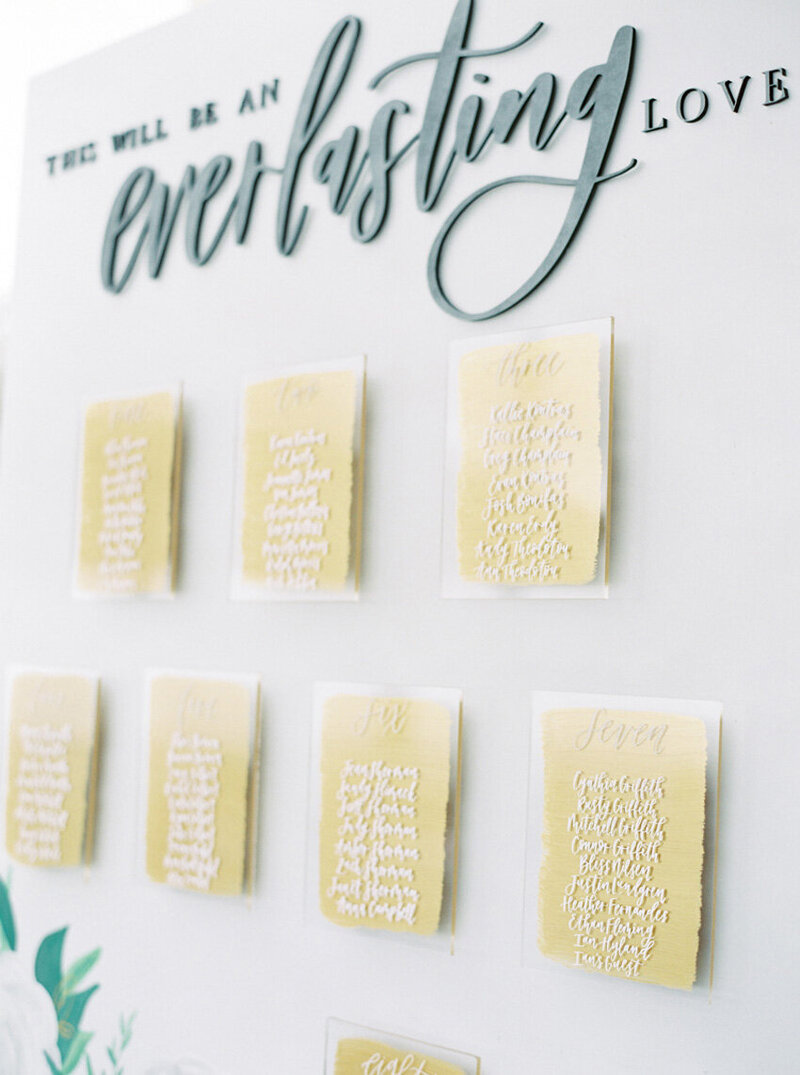 pirouettepaper.com | Wedding Stationery, Signage and Invitations | Pirouette Paper Company | Seating Charts 90