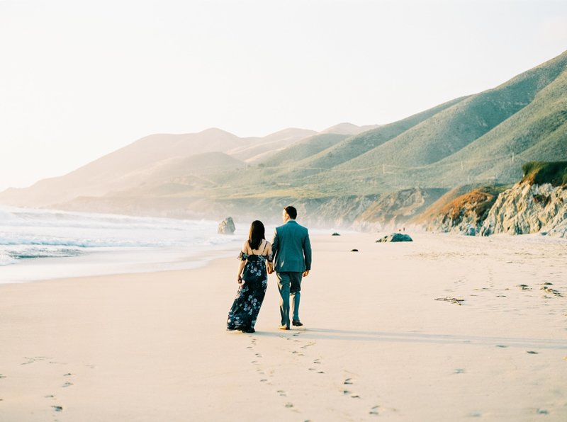 Big Sur Engagement Photos-3