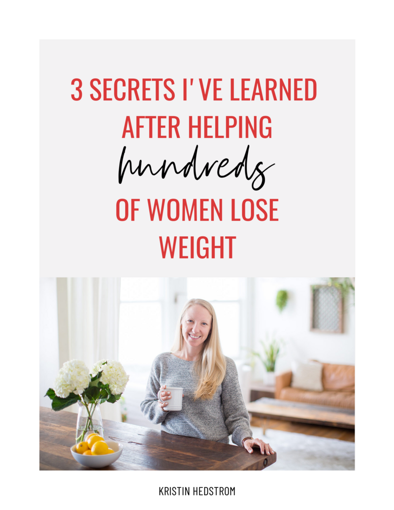 Kristin Hedstrom Weight Loss Coach for Women