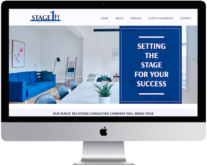 This video show the transformation of Stage 1 PR. They received new branding and website from Melanie Latrelle Grandoit