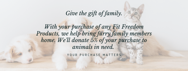 5% of sales is donated to saving animals-2