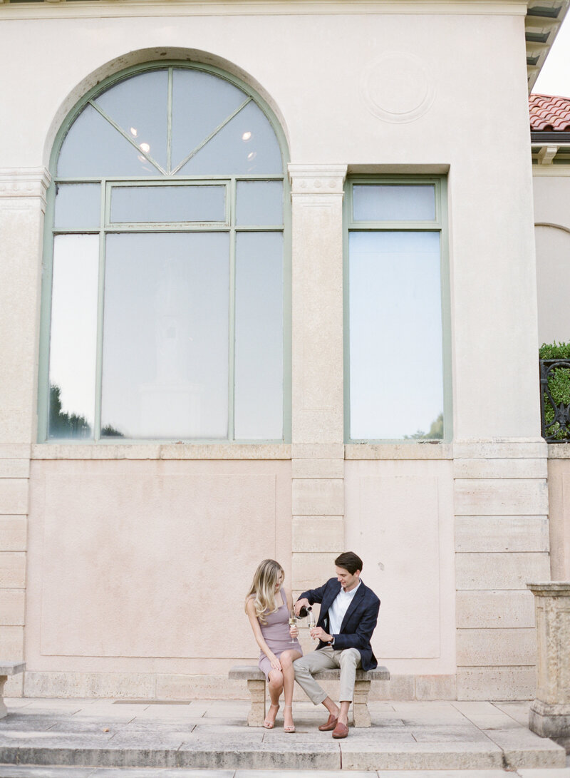 10-13-2020 Justin and Sydney Engagement Photos at Philbrook Museum Tulsa Wedding Photography-83