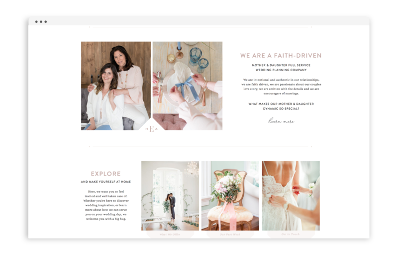With Grace and Gold - Branding, Web Design, and Education for Creative Women in Business - Happily Ever After Events Raleigh - 6