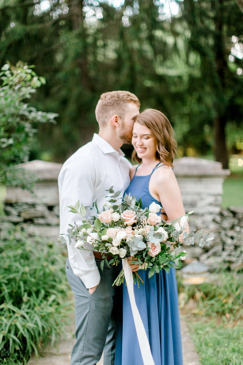 engagement bouquet | photo shoot