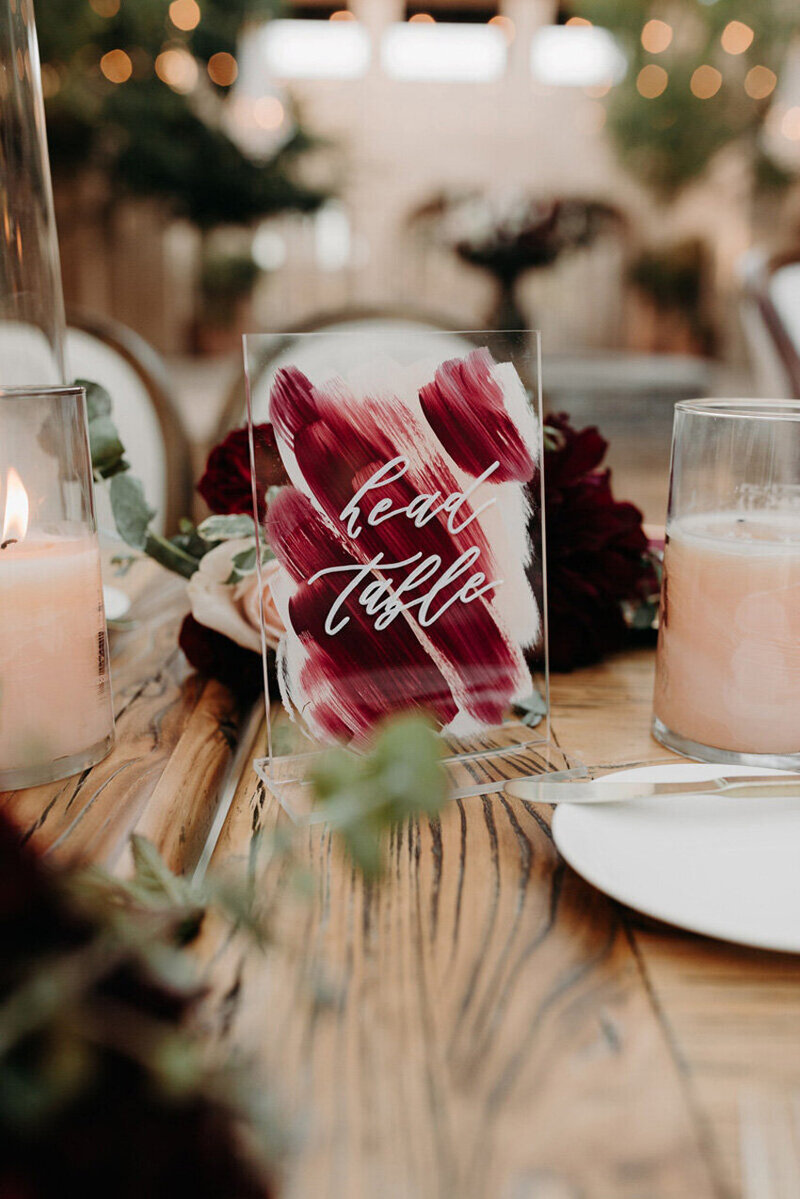 pirouettepaper.com | Wedding Stationery, Signage and Invitations | Pirouette Paper Company | Table Numbers 80