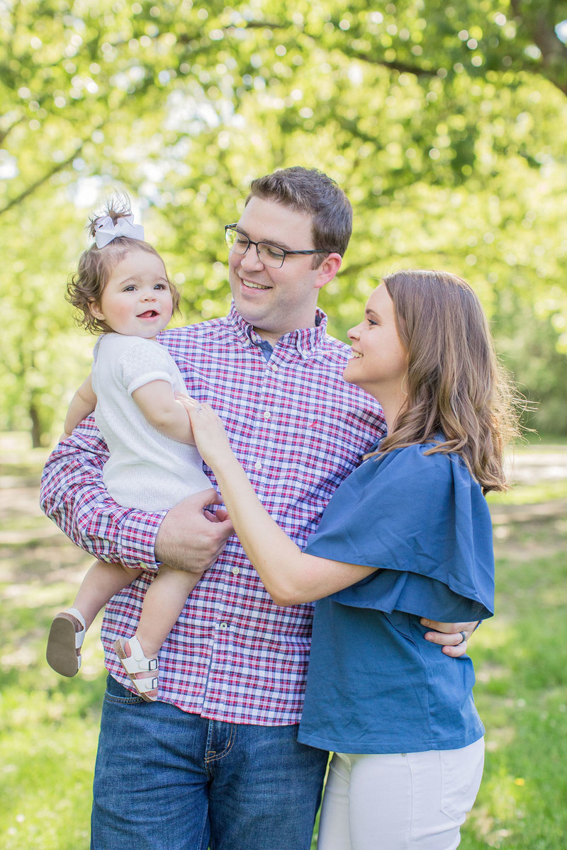 Mississippi lifestyle newborn family photo session by Katelyn Anne Photography