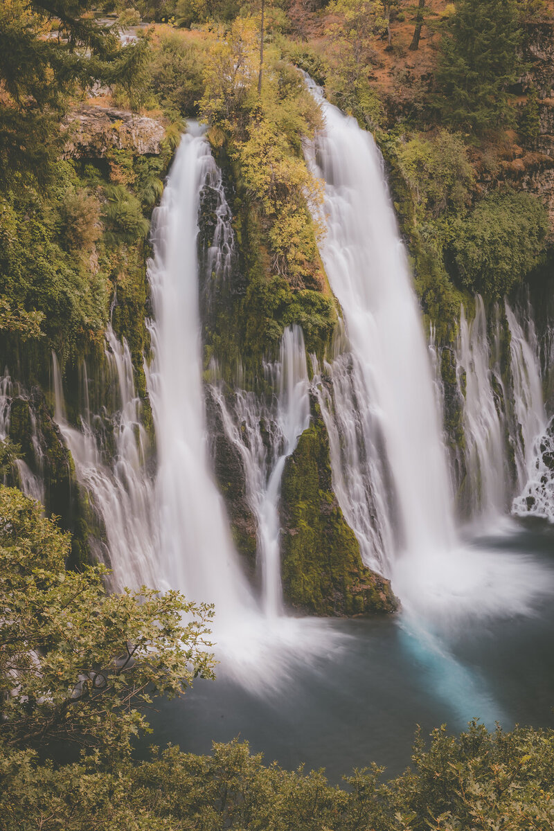Waterfall in Northern California.
