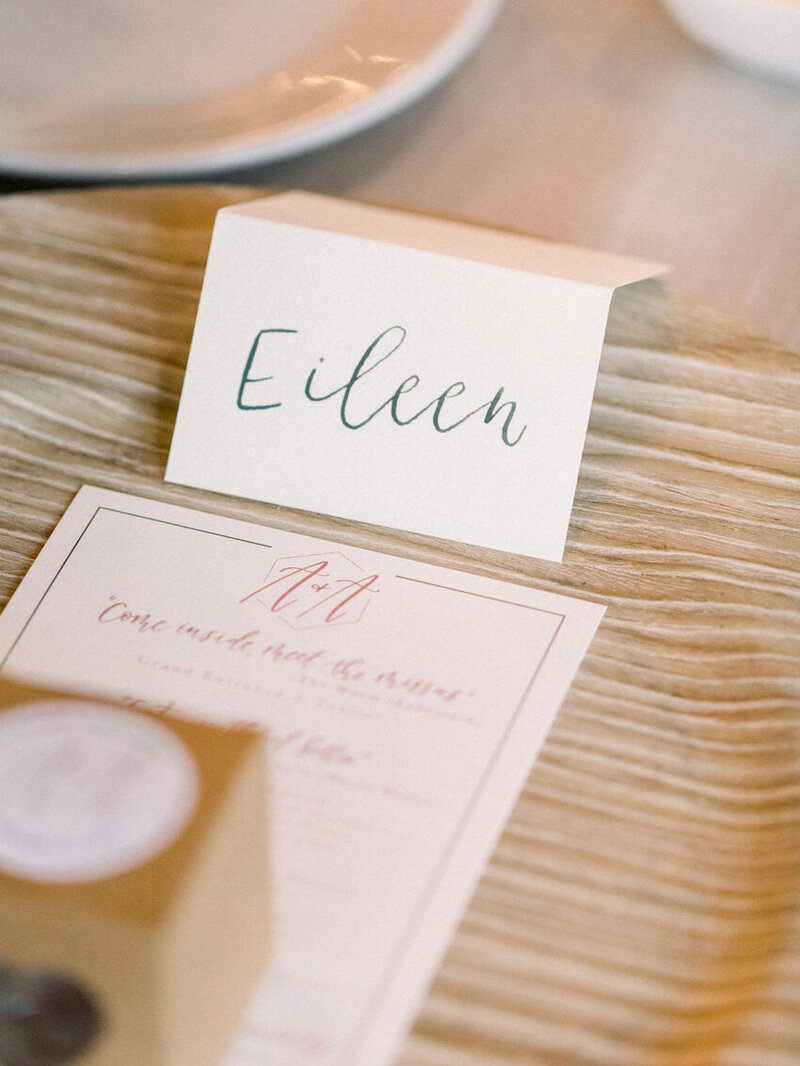 pirouettepaper.com | Wedding Stationery, Signage and Invitations | Pirouette Paper Company | Place Cards 56