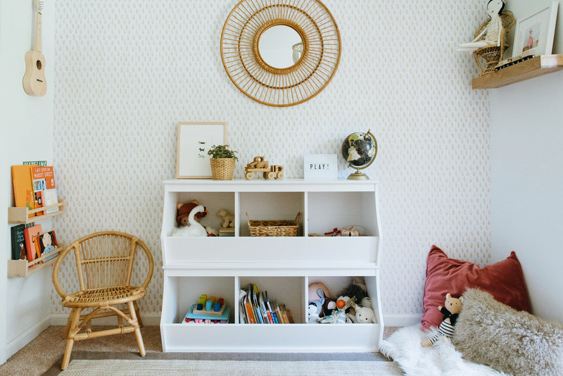 how to organize your playroom
