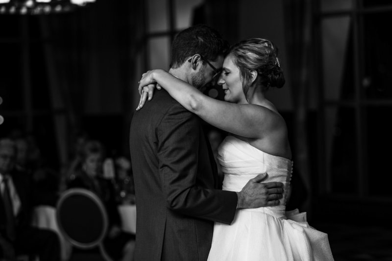 First dance at Sheraton Erie Bayfront Hotel wedding