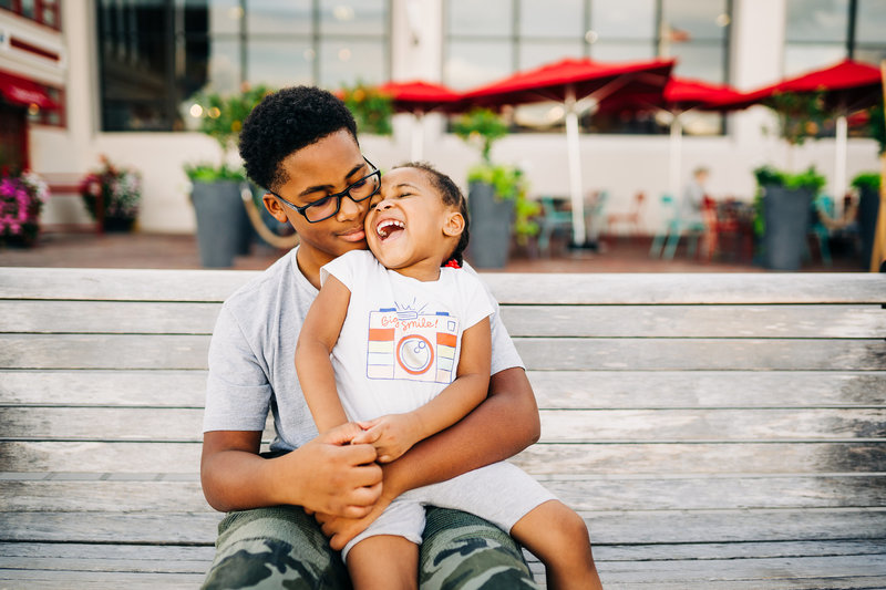 DMV family session at Waterfront Park in Alexandria, VA