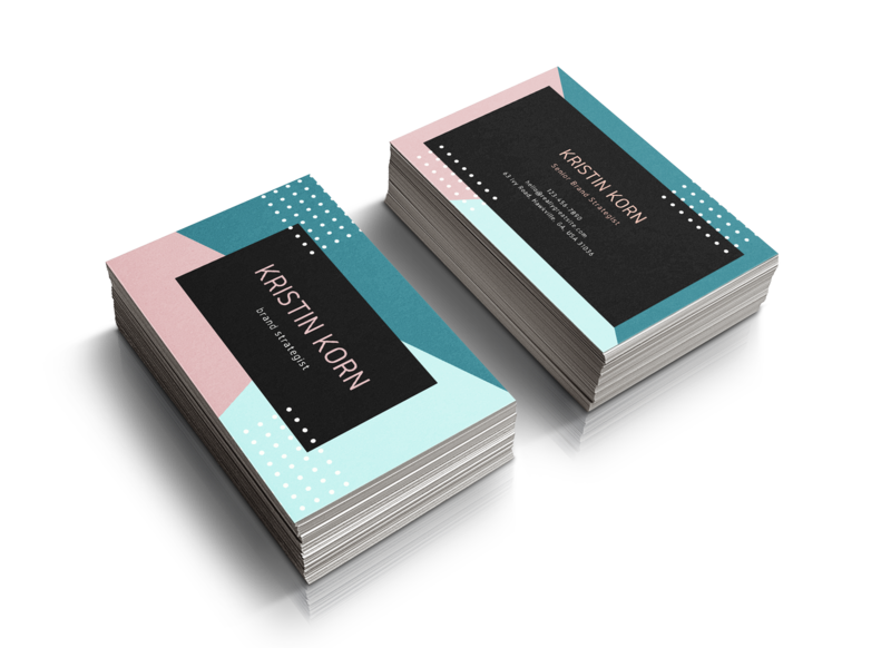 Kristin Korn Business Card = Modern 1
