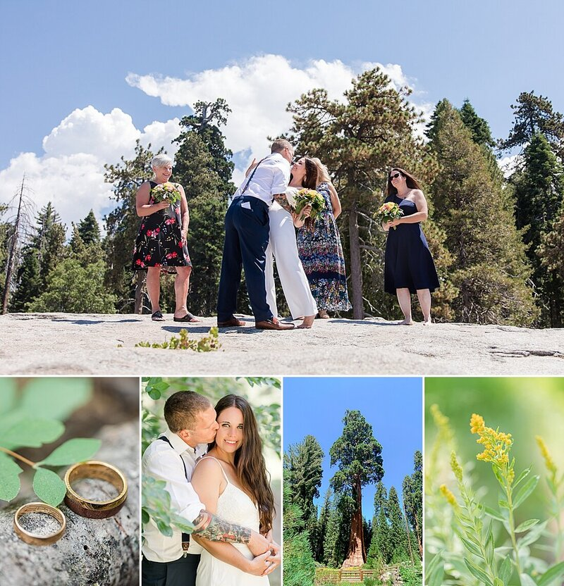 Sequoia National Park | Beatle Rock |  Ben & Sarah Elopement 2020 | Laura's Favorites 75